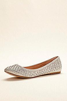 Crystal Embellished Ballet Flat BABA1