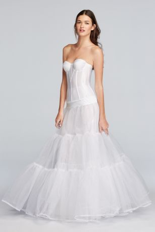 Ball Gown Silhouette Slip | David's Bridal