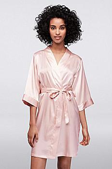 Blank Luxury Satin Robe BLNKROBE