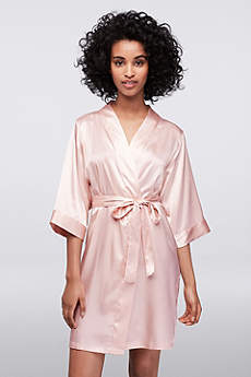 Blank Luxury Satin Robe