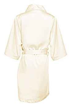 Blank Bridal Luxury Satin Robe BRIDEBLNKROBE
