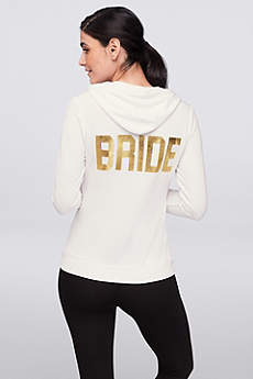 Bride Zip-Up Hoodie