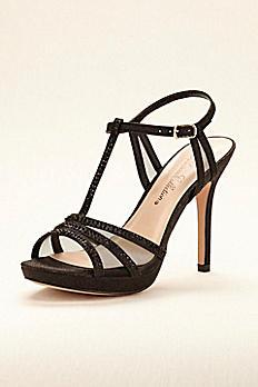 Platform High Heel T-Strap Sandal CARREY21