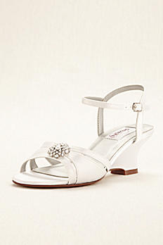 Cassie Dyeable Low Wedge Sandal Cassie
