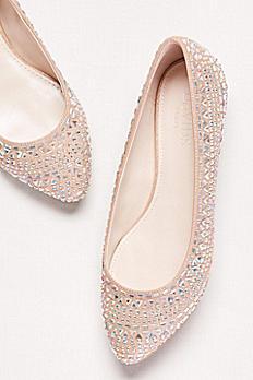 Crystal Embellished Ballet Flat CELESTE