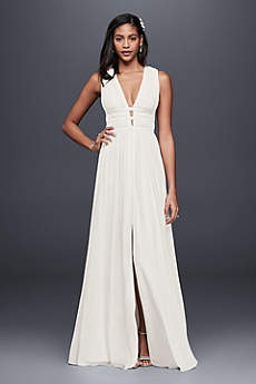 Long Sheath Tank Cocktail and Party Dress - Nicole Miller