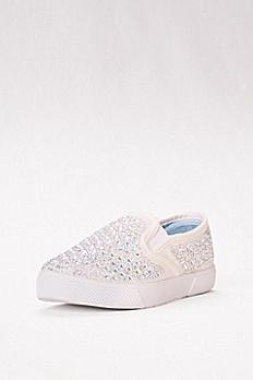 Embellished Slip-On Sneaker CHERRY-10