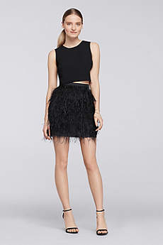 Short A-Line Tank Prom Dress - Cheers Cynthia Rowley