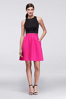 Short Sheath Tank Cocktail and Party Dress - Cheers Cynthia Rowley