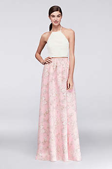 Long Sheath Halter Prom Dress - Cheers Cynthia Rowley