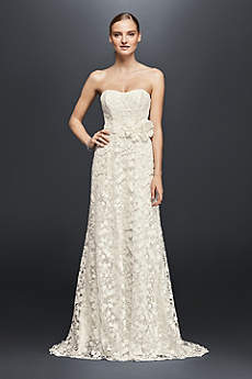 Long Sheath Beach Wedding Dress - Cheers Cynthia Rowley