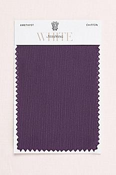 Amethyst Crinkle Chiffon Fabric Swatch VWSWATCHAMETHYST