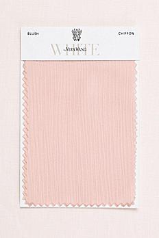 Blush Crinkle Chiffon Fabric Swatch VWSWATCHBLUSH