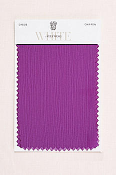 Cassis Crinkle Chiffon Fabric Swatch VWSWATCHCASSIS
