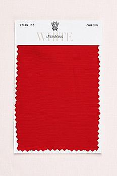 Valentina Crinkle Chiffon Fabric Swatch VWSWATCHVALENTINA
