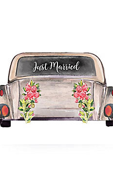 Just Married Car Window Cling CV01