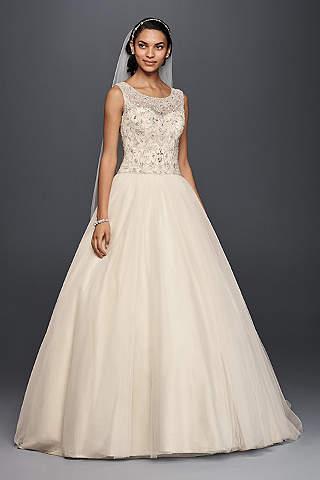 Champagne Wedding Dresses Lebanon