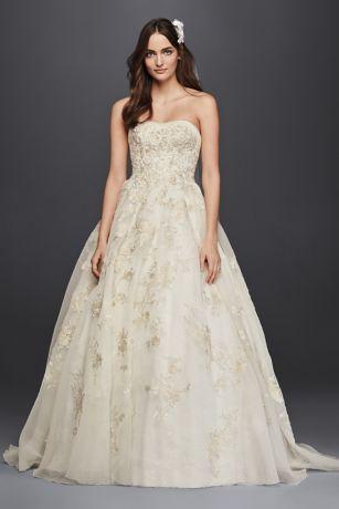 Oleg Cassini Wedding Dresses Rose