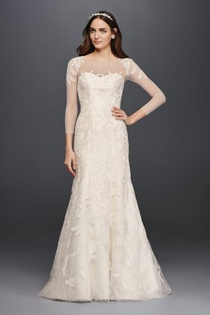 CWG704 IVORY OLEG PROD4 V2 016?$plpproductimgdesktop 4up$ - Mermaid Wedding Gowns