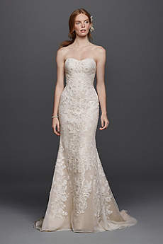 Long Sheath Formal Wedding Dress -