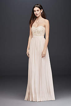 Long Sheath Beach Wedding Dress - Soieblu