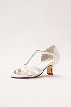 Girls T-Strap Crystal Sandals DAKOTA