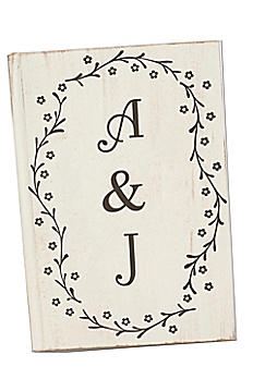 Personalized Wedding Guest Book DB1017