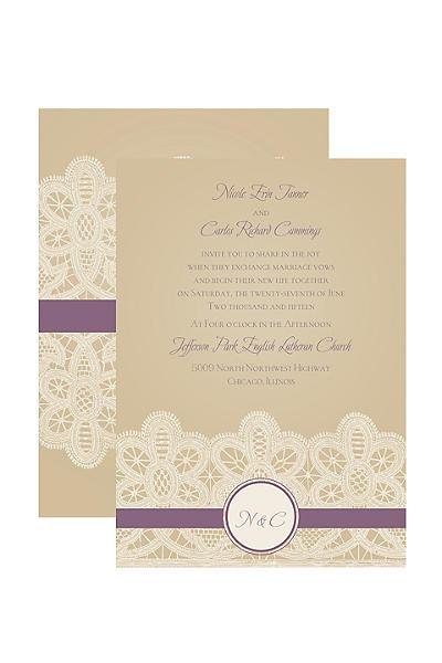 davids bridal wedding invitations – gangcraft, Wedding invitations