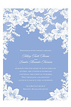 Lace Fantasy Invitation Sample DB26640