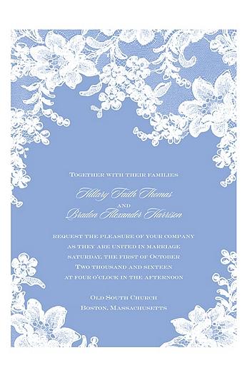 Lace Fantasy Invitation Sample DB26640