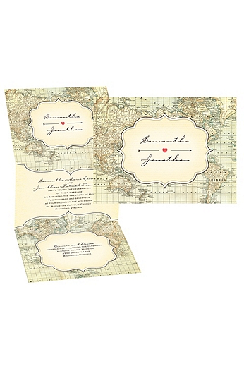 Traveler's Tales Invitation Sample DB28758