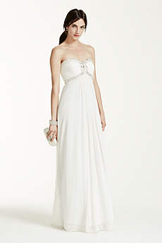 Destination beach wedding dresses david 39 s bridal for Davids bridal beach wedding dresses