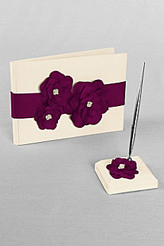 DB Exclusive Floral Desire Guest Book and Pen Set DB74GBP