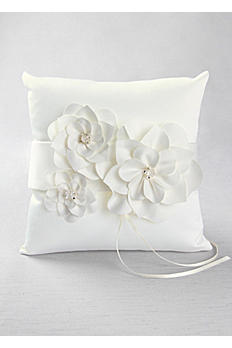DB Exclusive Ivory Floral Desire Ring Pillow DB78RP