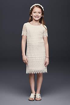 Short Sheath Short Sleeves Dress - US Angels