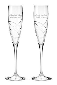 Personalized Lenox Adorn Signature Toasting Flutes DB827763