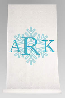 DB Exc Personalized Snowflake Monogram Runner