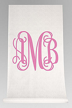 DB Exclusive Personalized Monogram Aisle Runner DB91708