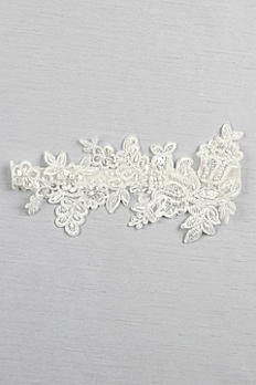 Sea of Petals Bridal Garter GTR94BG
