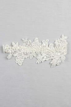 Sea of Petals Bridal Garter