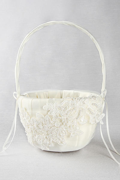 Wedding Flower Girl Basket