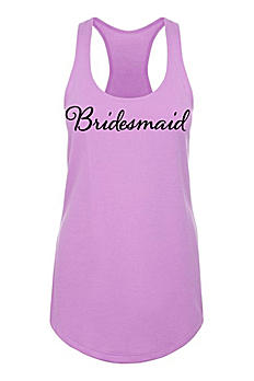 Bridesmaid Racerback Tank Top DBK-ALA-BM