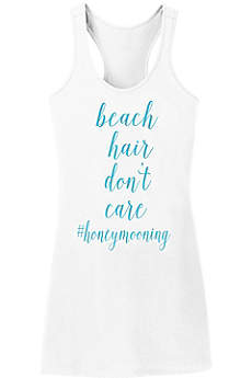 Beach Hair Dont Care Swim Cover Up
