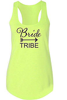 Bride Tribe Racerback Tank Top DBK-TRIBE-TR