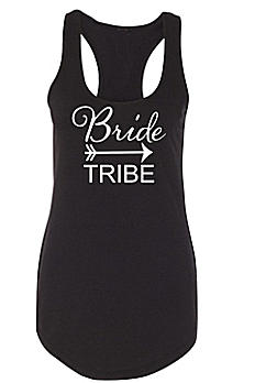 Bride Tribe Racerback Tank Top DBK-TRIBE-TR