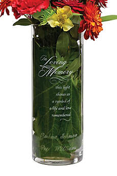 Personalized In Loving Memory Cylinder