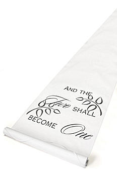 Two Shall Become One Aisle Runner DBK30045
