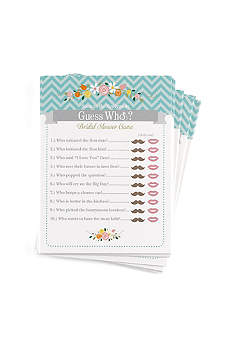 Guess Who Newlywed Game Pack of 25