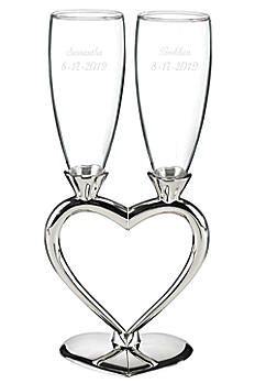 Personalized Heart-to-Heart Flute Set DBK7510P