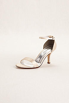 Dyeable Single Strap Satin Sandal DBNAYOMI